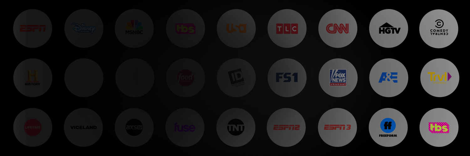 """Stop Paying Too Much for TV"" Messaging on channel logos"
