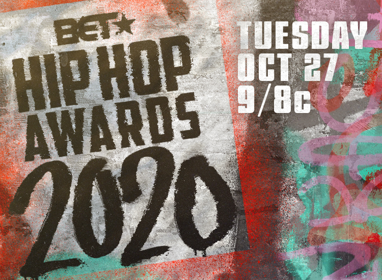 The logo for the BET Hip Hop Awards 2020