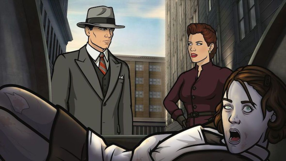 "A scene from ""Archer"""