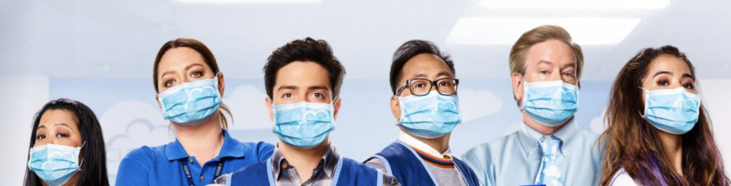 "The cast of ""Superstore"""